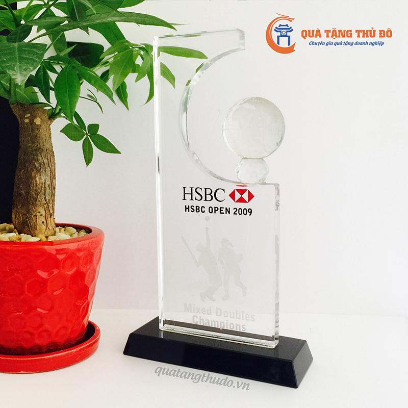 Biểu Trưng Pha Lê HSBC