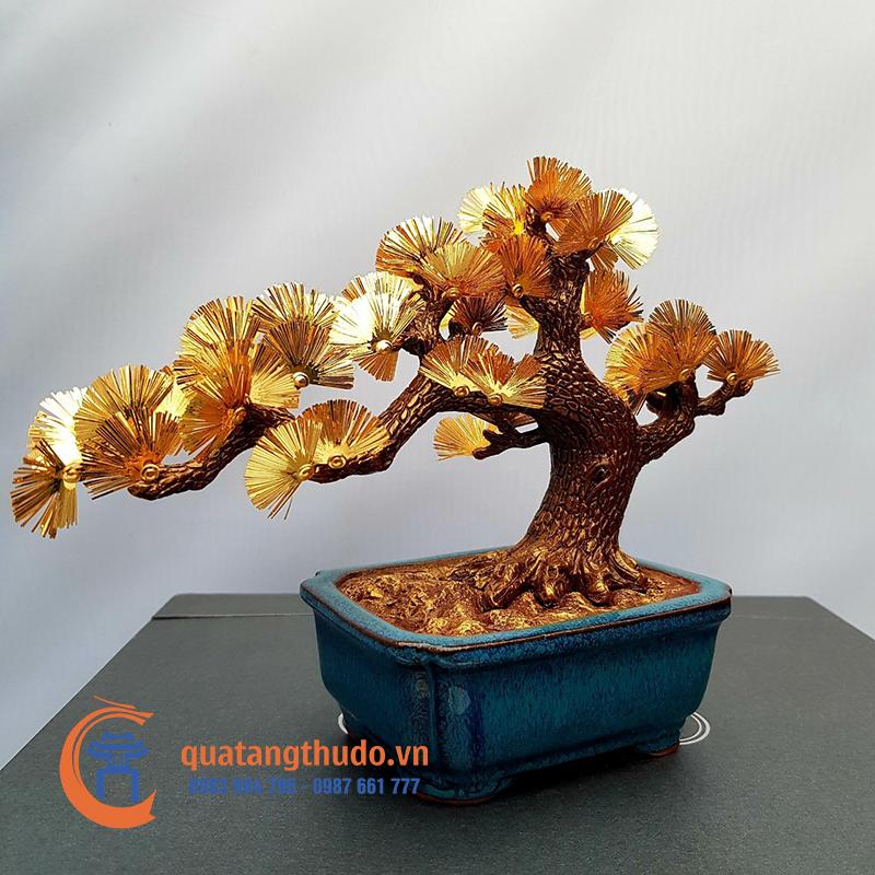 Quà Tặng Vàng Cao Cấp: Cây Tùng Vàng